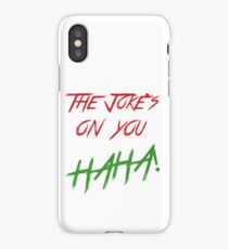 The jokes phone iPhone Case