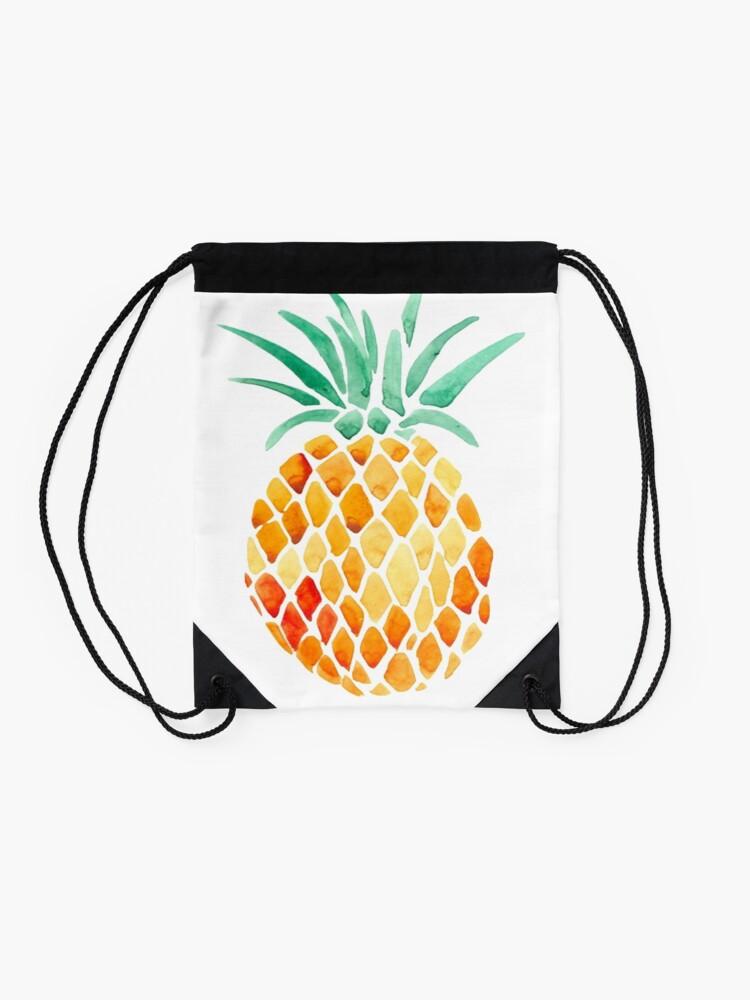 Alternative Ansicht von Ananas Turnbeutel