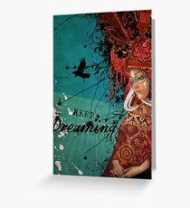 Keep Dreaming Greeting Card