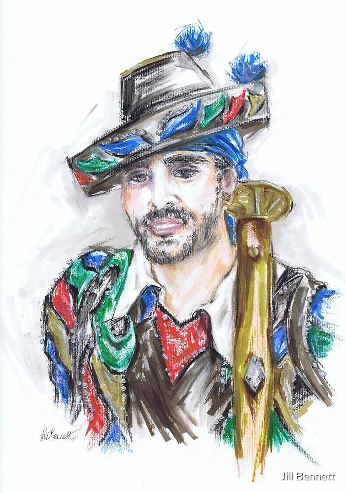 The Handsome Bandolero or El Bandolero Guapo by Jill Bennett
