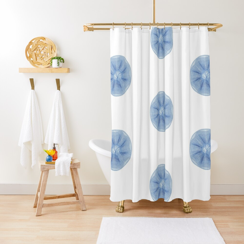 Star Burst Shower Curtain
