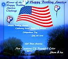 -AMERICA IS HAVING A BIRTHDAY PARTY !! CHALLENGE... july 4th 2011 by Sherri Palm Springs  Nicholas