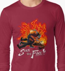 Suck Your Face Long Sleeve T-Shirt