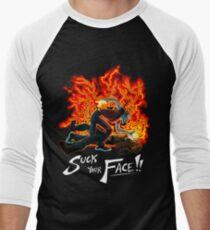 Suck Your Face Men's Baseball ¾ T-Shirt