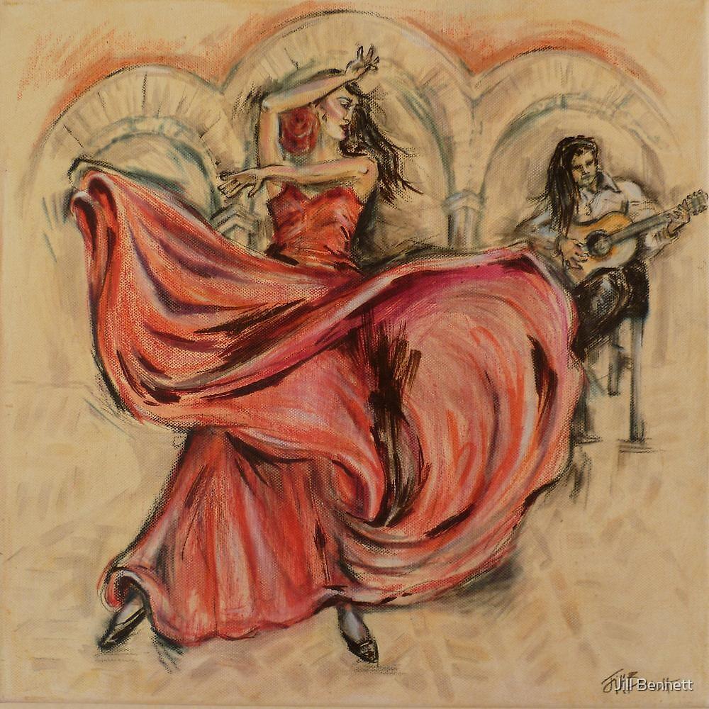 Flamenco Rapido by Jill Bennett