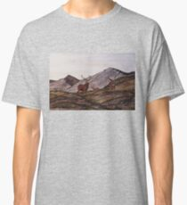 `Cabrach Stags' Red Deer in Scotland Classic T-Shirt