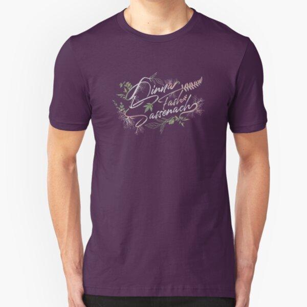 Dinna Fash Sassenach - Outlander Official Merch Slim Fit T-Shirt