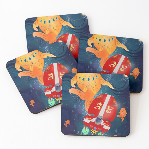 The Red One Coasters (Set of 4)