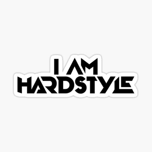 Je suis Hardstyle Sticker