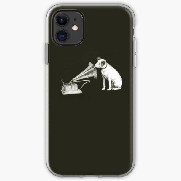 his masters voice iPhone Soft Case