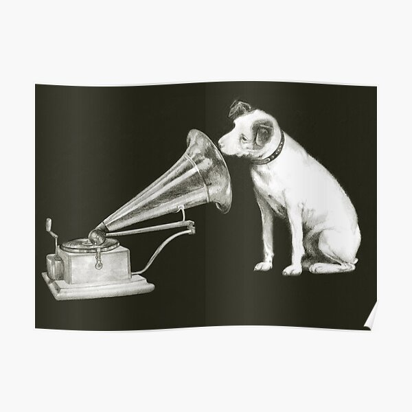 his masters voice Poster