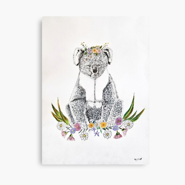 Frida Koala Canvas Print