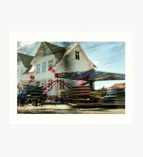 Karmøy| Forlatt øyeblikk #7 Art Print