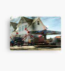 Karmøy| Forlatt øyeblikk #7 Canvas Print