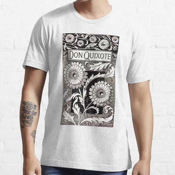 ALTA RESOLUCIÓN Portada del libro vintage Don Quijote Cervantes Camiseta esencial