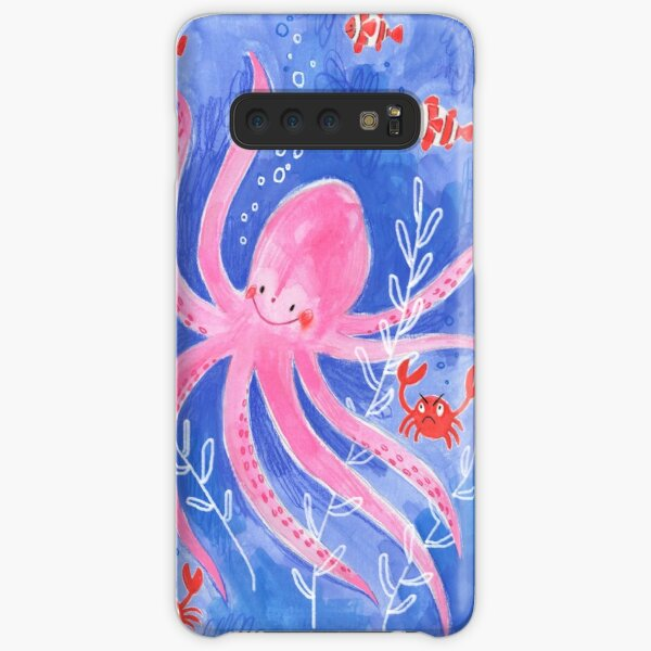 Happy Octopus Samsung Galaxy Snap Case
