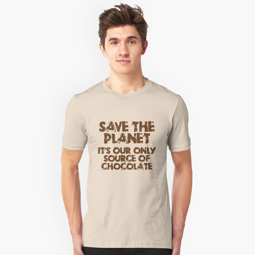 414 Save the Planet Unisex T-Shirt Front