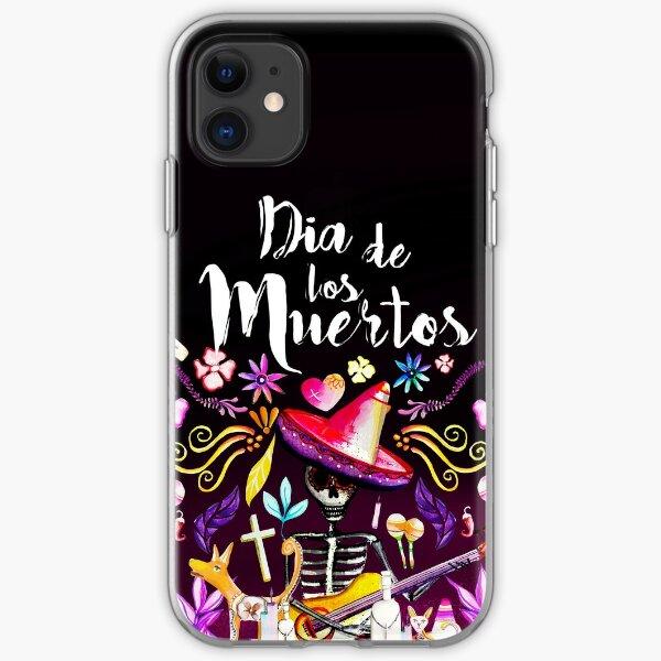 Dia De Los Muertos iPhone Soft Case
