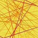 Yellow & Red Wires by Samm Poirier
