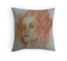 Helena Bonham Carter  Throw Pillow