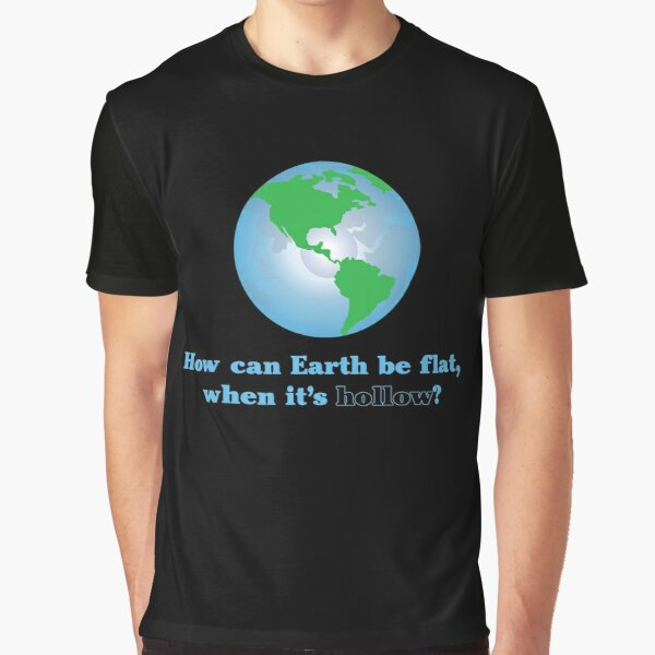 Hollow Earth Graphic T-Shirt