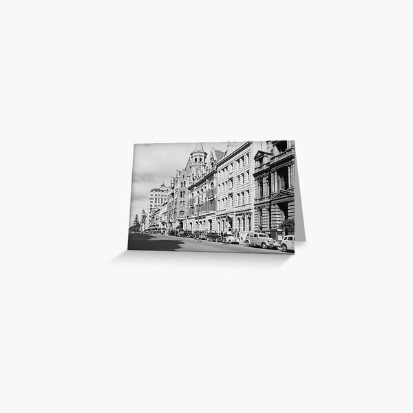 St George's Terrace, Perth, 1941, State Library of Western Australia Greeting Card