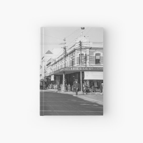 Murray Street, Perth, 1941, State Library of Western Australia Hardcover Journal