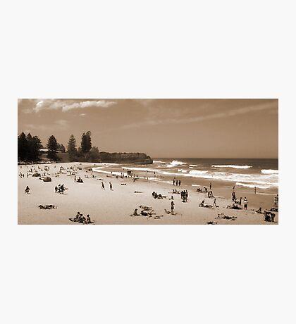 My Beach of Yesteryear Photographic Print