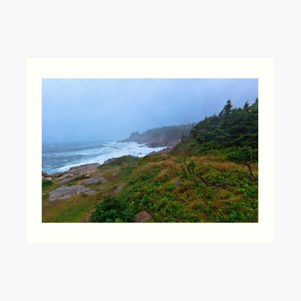Cape Breton Highlands National Park of Canada Art Print