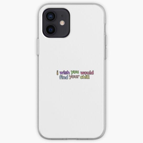 J'aimerais que tu trouves ton frisson Coque souple iPhone