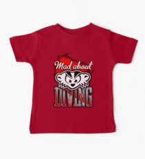 Mad About Diving Baby Tee