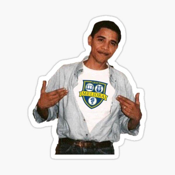 University of Rochester Obama Sticker