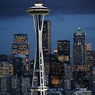 Space Needle by swight