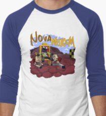 Nova Nukem Men's Baseball ¾ T-Shirt