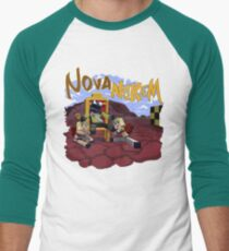 Nova Nukem Men's Baseball ¾ T-Shirt