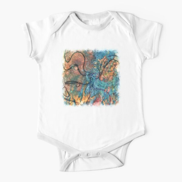 The Atlas of Dreams - Color Plate 10 Short Sleeve Baby One-Piece
