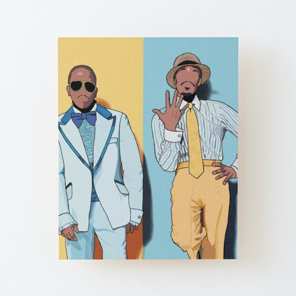 Outkast forever Wood Mounted Print