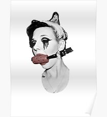 Gagged Red Poster