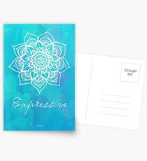 Throat Chakra - Expressive Postcards