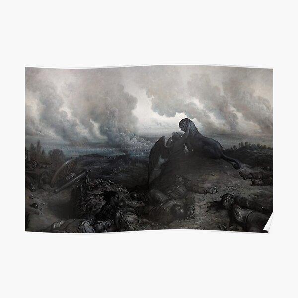 The Enigma - Gustave Dore - 1871 Poster
