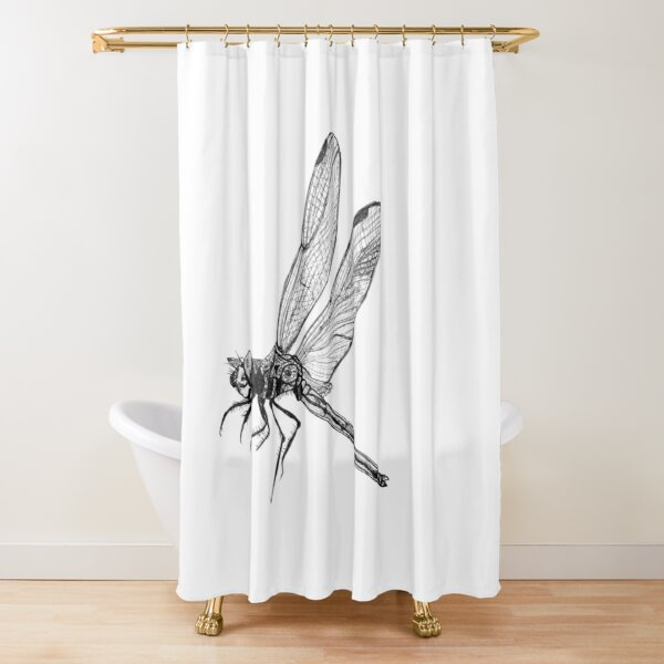 Hope the Dragonfly  Shower Curtain