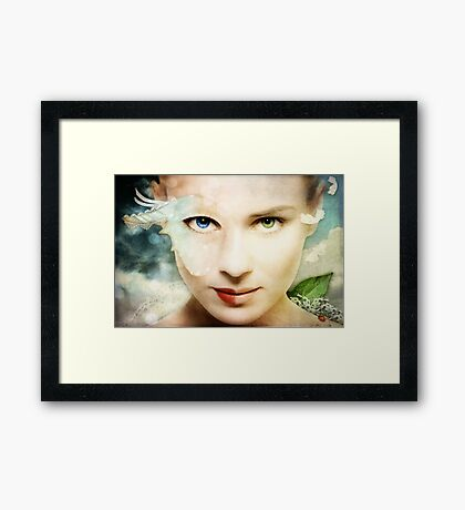 Dissembling - Beauty Pageant Framed Print