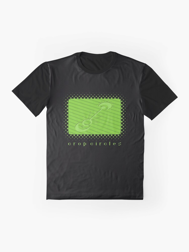 Alternate view of Crop Circles Graphic T-Shirt