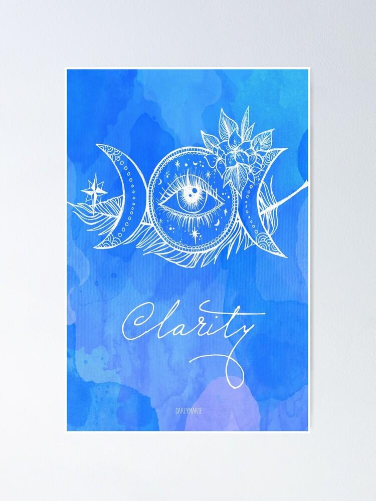 Alternate view of Third Eye - Chakra Poster