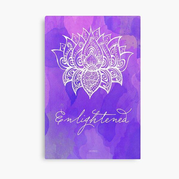 Crown Chakra - Enlightened Canvas Print