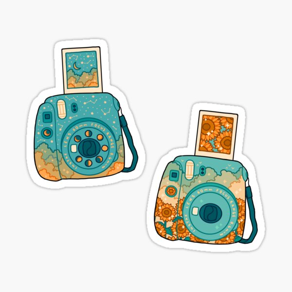 polaroids Sticker