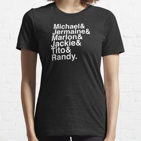 Les frères d'Helvetica (texte blanc) T-shirt essentiel