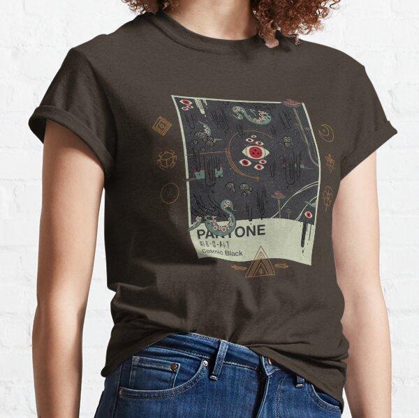 Noir cosmique T-shirt classique