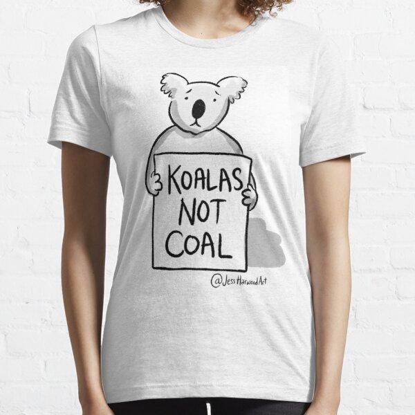 Koalas Not Coal by Jess Harwood Art  Essential T-Shirt