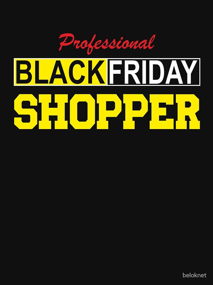 Professional Black Friday Shopper by beloknet